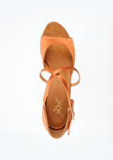 Chaussure de Danse Latine & Salon Move Rita 5cm Fauve #2. [Fauve]