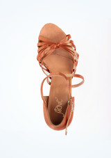 Chaussure de Danse Move Sadie 6cm Tanee Fauve superieure. [Fauve]