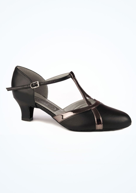 Chaussure de Danse Latine & Salon Freed Nancy 4cm Noir. [Noir]
