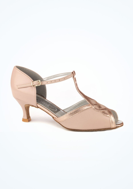 Chaussure de Danse Latine & Salon Dancesteps Francis 5cm Rose [Rose]