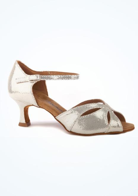 Chaussure de Danse Latine & Salon Diamant Arnika 5cm Argent. [Argent]