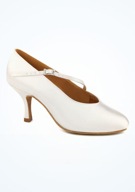 Chaussures danse de salon bride asymetrique Ray Rose Rockslide 6.5 cm blanc image principale. [Blanc]