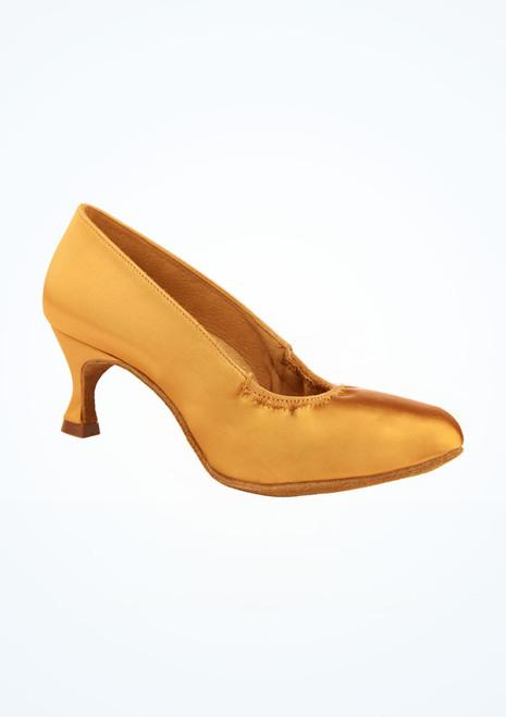 Chaussures danse de salon satin Ion Ray Rose 5 cm Marron image principale. [Marron]