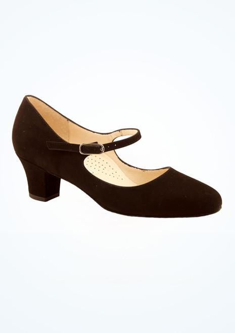 Chaussure danse de salon confort Ashley Werner Kern 4,5 cm Noir image principale. [Noir]
