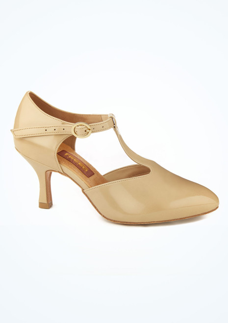 Chaussures americaines cuir vernis Freed 6.5 cm Fauve image principale. [Fauve]