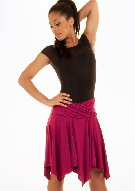 Jupe de Danse Latine Move Lucia Rose. [Rose]