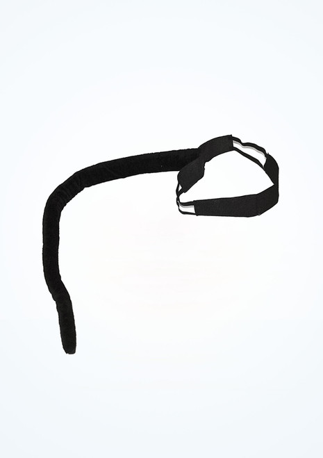 Queue de chat avec la ceinture Noir. [Noir]