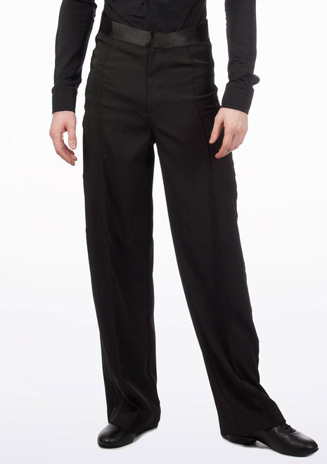 Pantalon de Danse de Salon Move Gabriel pour Hommes Noir. [Noir]