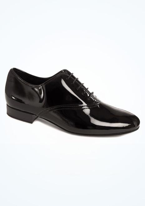 Chaussures danse de salon pour hommes Diamant Alfie  2,5cm Noir. [Noir]