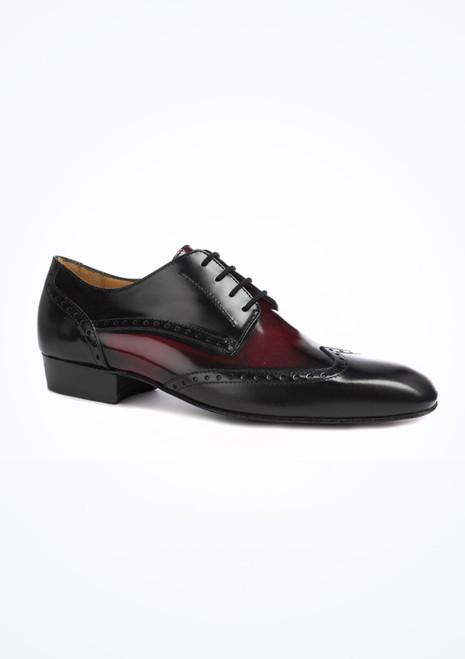 Chaussures de danse pour hommes Nueva Epoca Belgrano  2,5cm Noir. [Noir]