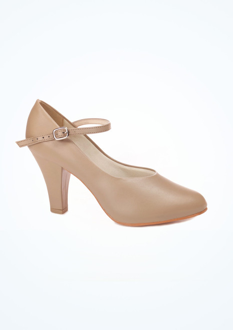 Chaussures de Caractere So Danca 7,5cm Fauve. [Fauve]