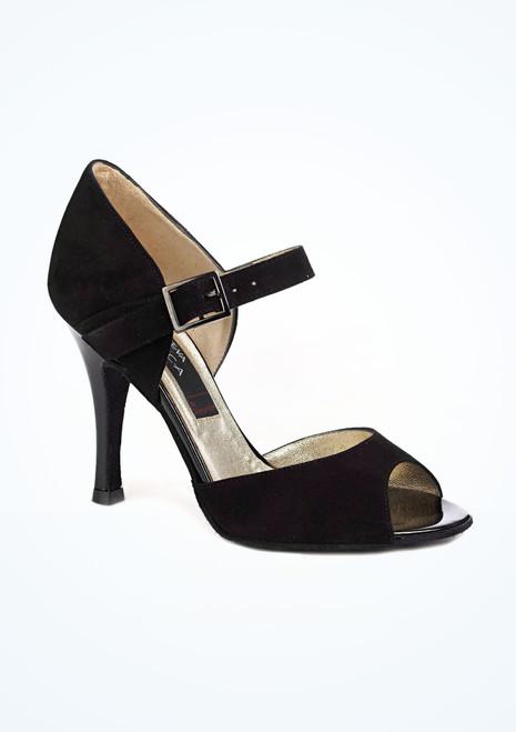 Chaussure de Danse Salsa Nueva Epoca Nora 9cm Noir. [Noir]