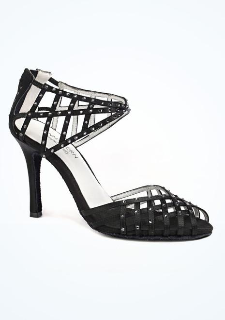 Chaussure de Salsa Anna Kern Erika 9cm Noir. [Noir]