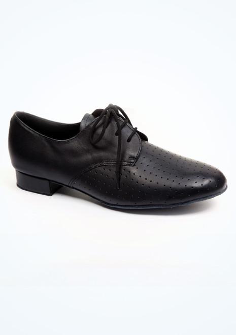 Chaussures danse de salon pour hommes Roch Valley Rupert  2,5cm Noir. [Noir]