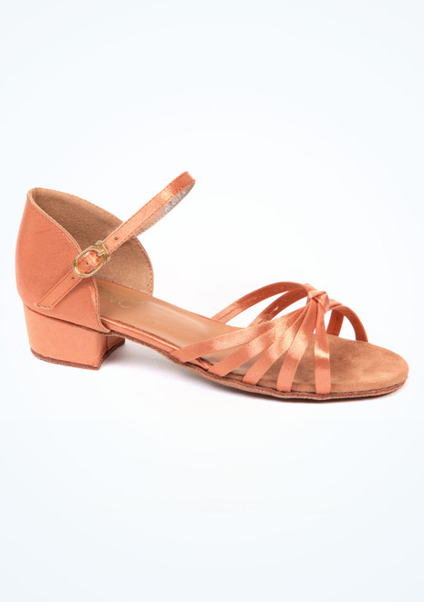 Chaussure de Danse Latine Salon Move Eliza  2,5cm Marron. [Marron]