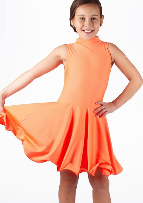 Robe Latine Adrina Move Filles Orange. [Orange]