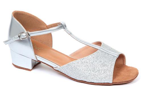 Chaussure de Danse Latine & Salon Move Lyri  2,5cm Argent. [Argent]