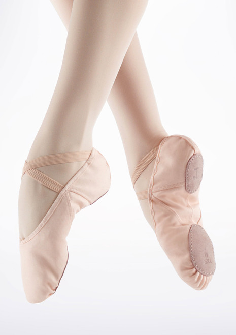 Demi Pointes Ballet Repetto Soft bi-semelle Rose. [Rose]