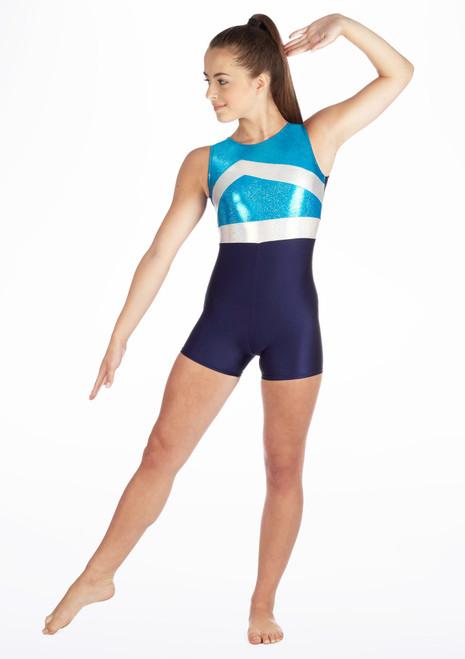 Justaucorps de gymnastique Gymtard1 Tappers & Pointers Bleue. [Bleue]