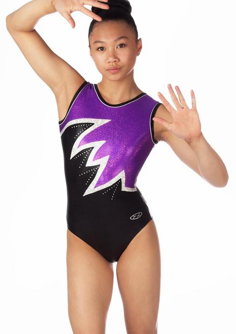 Justaucorps de gymnastique sans manches pour filles The Zone Fantasia Violet. [Violet]