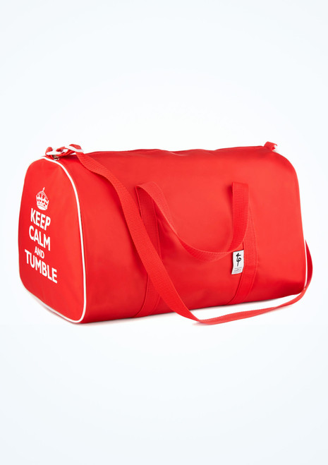 Sac fourre-tout Keep Calm and Tumble de Tappers & Pointers Rouge image principale. [Rouge]