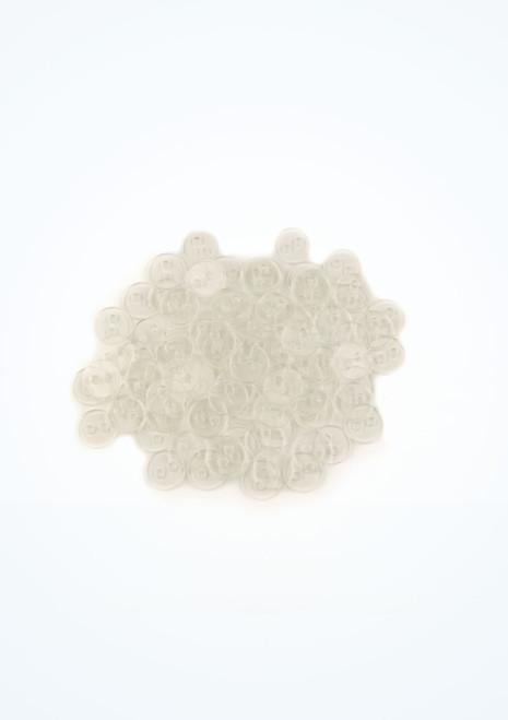 Boutons transparents 100 pieces image principale. [Transparent]
