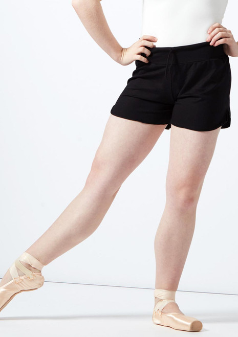 Short taille haute Ballet Rosa Noir avant. [Noir]