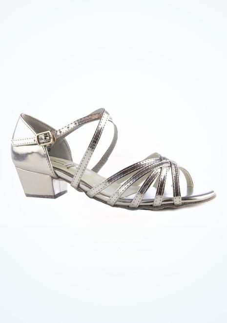 Chaussures de danse de salon Bella Roch Valley 3 cm Argent image principale. [Argent]