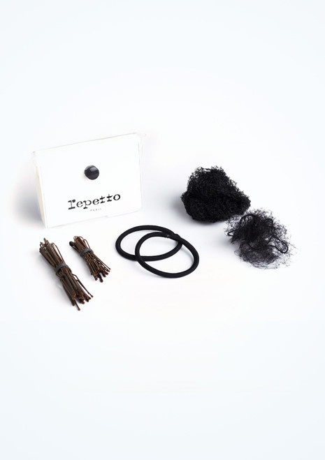 Kit Chignon Repetto Noir. [Noir]