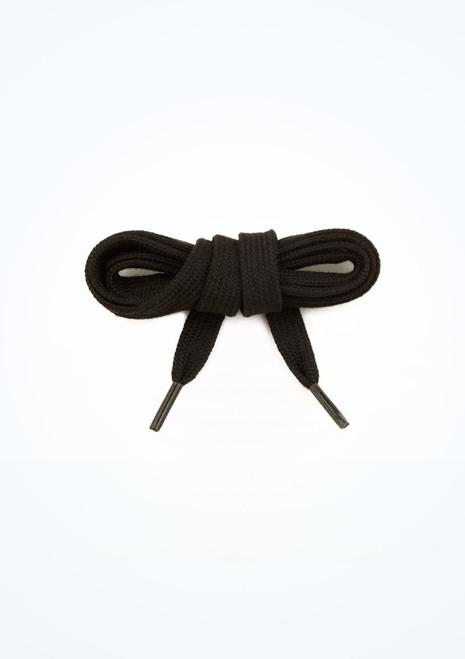 Lacets de Chaussures de Claquettes Tappers & Pointers Noir image principale. [Noir]
