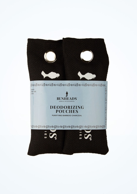 Pochettes desodorisantes Capezio lot de 2 Noir avant. [Noir]