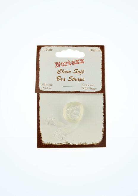 Bretelles soutien-gorge transparentes 1 paire image principale. [Transparent]