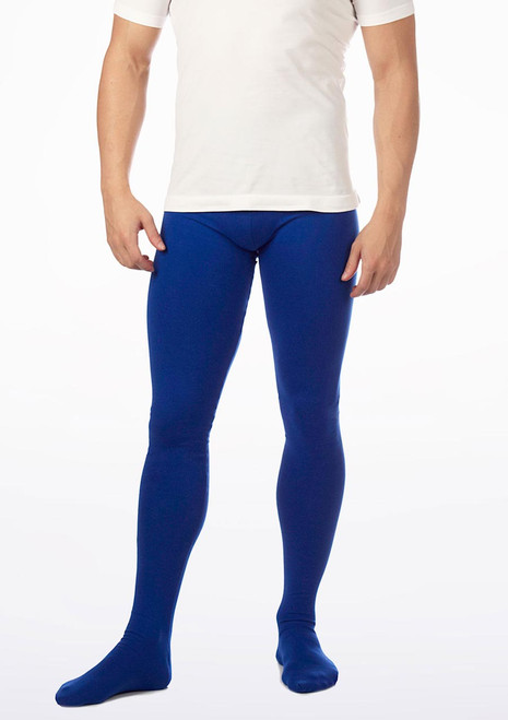 Collants Intermezzo Pantalpie Hommes Bleue. [Bleue]