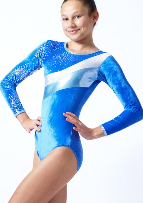 Justaucorps de gymnastique Tappers & Pointers GYM31 Bleue  Avant-1T [Bleue ]