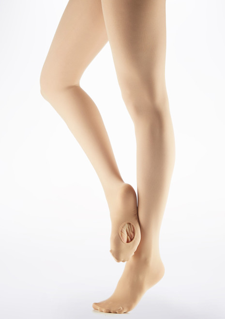 Collants convertibles Ultra Soft Transition Capezio Marron image principale. [Marron]