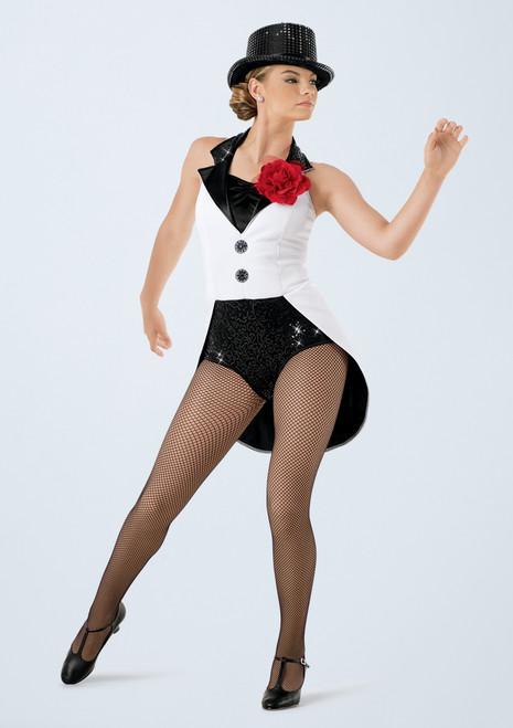 Weissman Top Hat, White Tie and Tails Noir-Blanc avant. [Noir-Blanc]