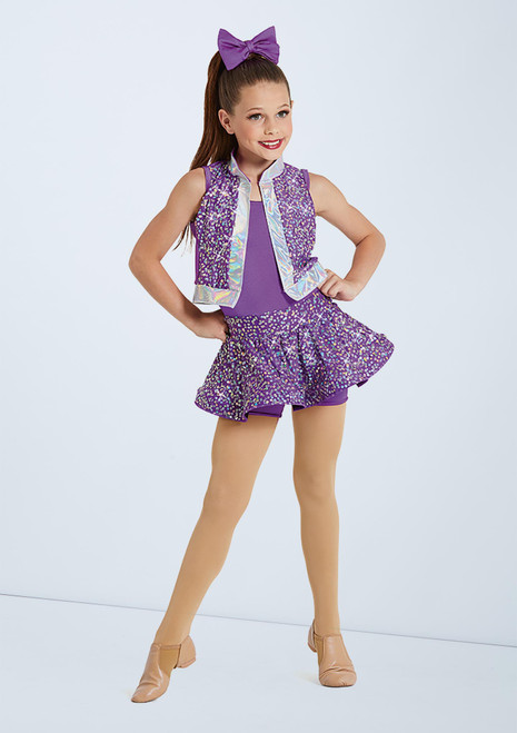 Weissman Shut Up And Dance Violet avant. [Violet]