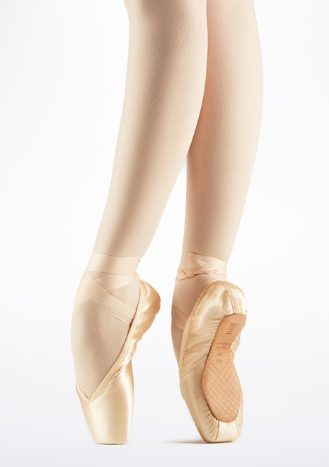 Pointes Heritage Bloch Rose. [Rose]