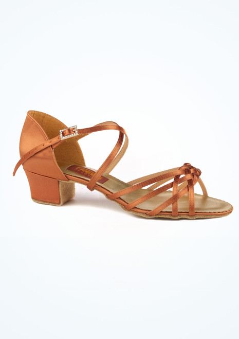 Chaussure de Danse Latine & Salon Freed Maisie 4cm Marron. [Marron]