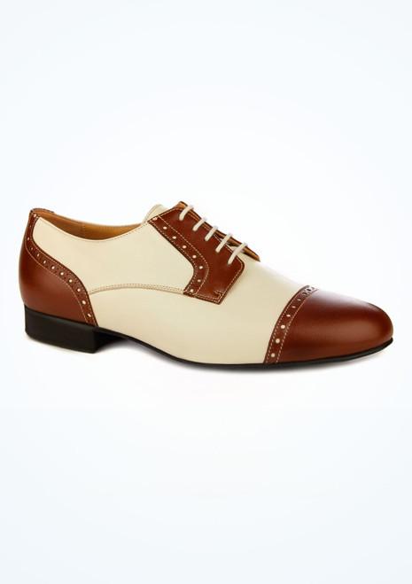 Chaussures danse de salon pour hommes style brogue Werner Kern marron image principale. [Marron]