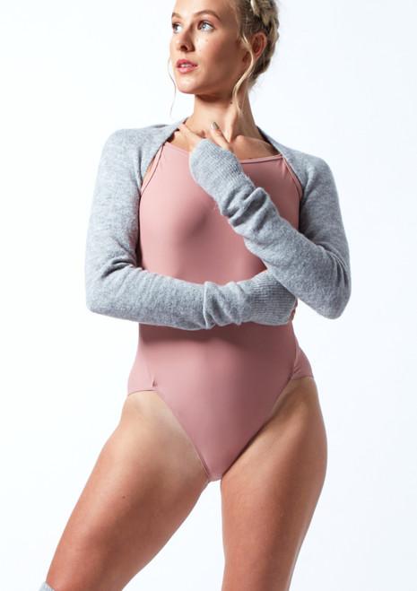 Move Dance Schulterwärmer Giovanna aus Strick Gris  Avant-1T [Gris ]