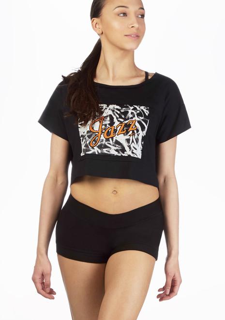 T-shirt court de jazz So Danca