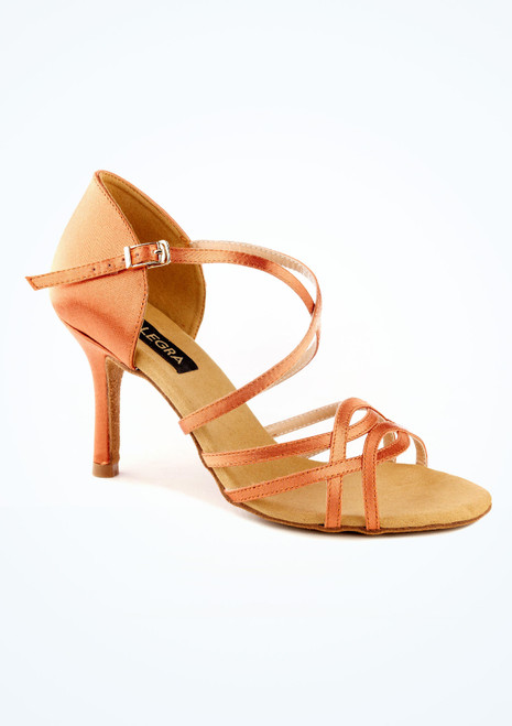 Chaussure de Danse Alegra Toni 7,5cm Fauve. [Fauve]
