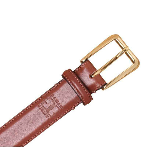 Gaziano and Girling Brand new Gaziano Girling Belt - in Vintage Cedar Calf leather
