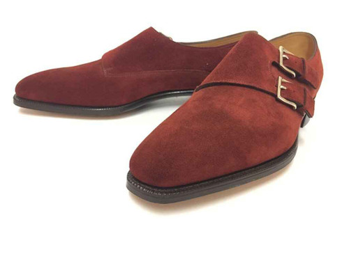 John Lobb Brand new John Lobb Chapel- in Brown Suede