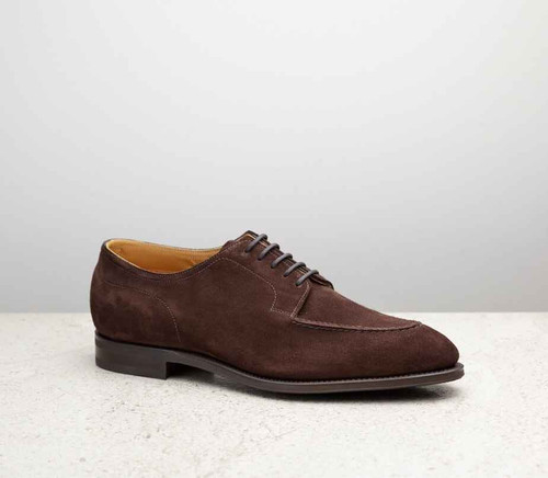 Edward Green Brand New Edward Green Dover - Brown suede Calf Leather