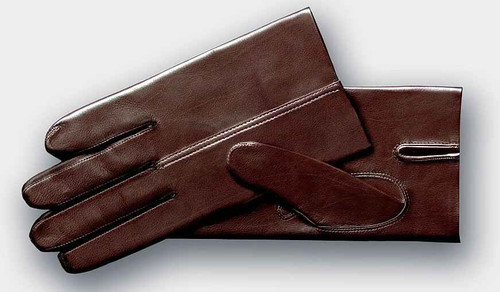 John Lobb Brand New John Lobb Gloves - Twinstitch Brown