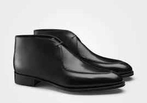 John Lobb Brand New John Lobb Fowey Boot - Black Museum calf