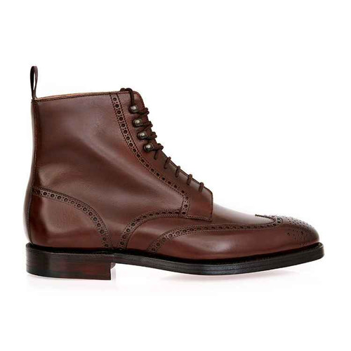Cleverley Brand new George Cleverley Bryan Boots - Brown leather