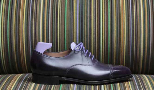 John Lobb John Lobb Westbourne for Paul Smith Limited edition- iris purple Museum Calf
